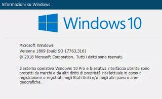 última versión de windows 10