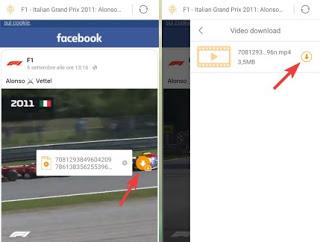Video de Facebook para Android