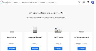 Altavoces de Google