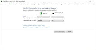 Energía de Windows 7