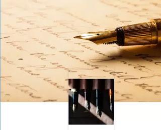 fondo de bolígrafos